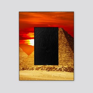 Egyptian Pyramids At Sunset Picture Frame