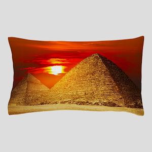 Egyptian Pyramids At Sunset Pillow Case