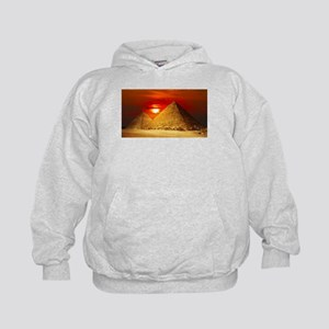Egyptian Pyramids At Sunset Hoodie