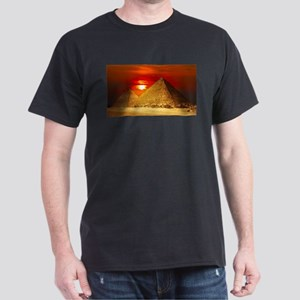 Egyptian Pyramids At Sunset T-Shirt