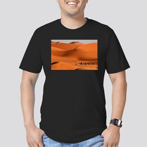 Camel Caravan In The Desert T-Shirt