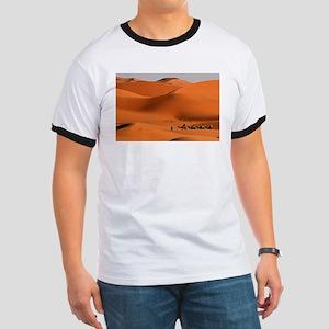 Camel Caravan In The Desert T-Shirt