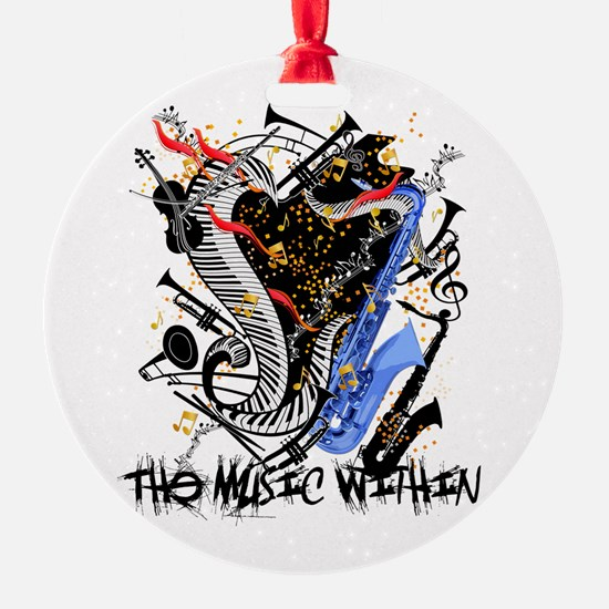 Musical Instruments Band Colorful b Ornament