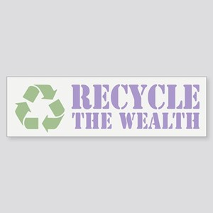 Recycle the Wealth Sticker (Bumper 10 pk)