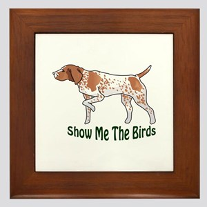 SHOW ME THE BIRDS Framed Tile