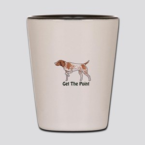 GET THE POINT Shot Glass