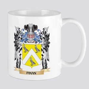 Finan Coat of Arms - Family Crest Mugs
