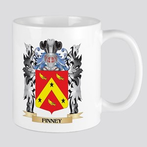Finney Coat of Arms - Family Crest Mugs