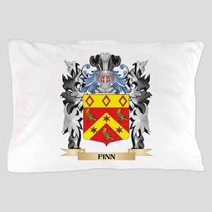 Finn Coat of Arms - Family Crest Pillow Case