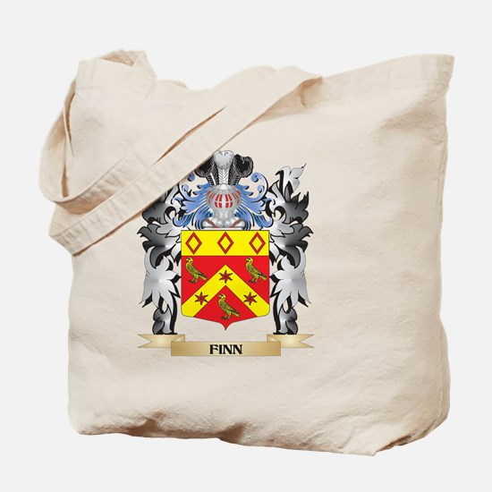 Finn Coat of Arms - Family Crest Tote Bag