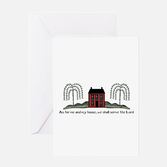 Serve the Lord Greeting Card