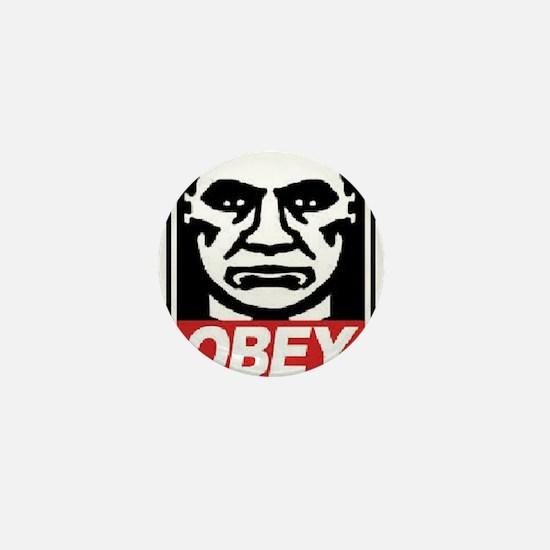 Obey Mini Button