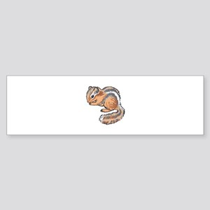 CHIPMUNK Bumper Sticker