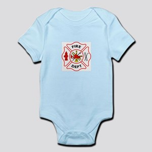 MALTESE CROSS FIRE DEPT Body Suit