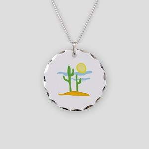 Desert Cactus Necklace