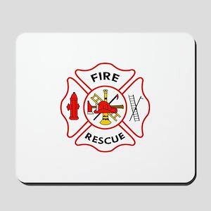 MALTESE CROSS FIRE RESCUE Mousepad