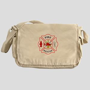 MALTESE CROSS FIRE RESCUE Messenger Bag