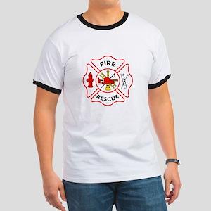 MALTESE CROSS FIRE RESCUE T-Shirt