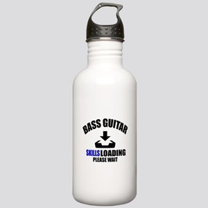 Bass Guitar Skills Loa Stainless Water Bottle 1.0L