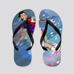 Super Crayon Colored Wakeboarding in th Flip Flops