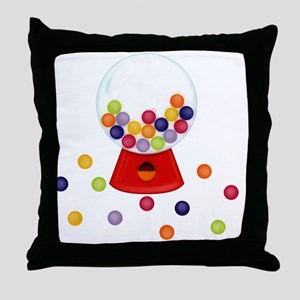 Gumball_Machine Throw Pillow