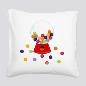 Gumball_Machine Square Canvas Pillow