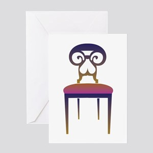 Chair Greeting Cards