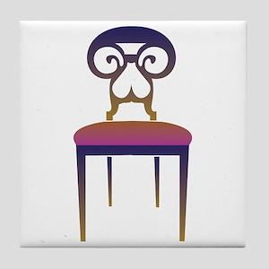 Chair Tile Coaster