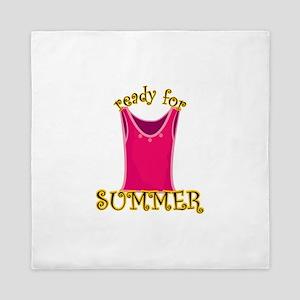 Ready For Summer Queen Duvet