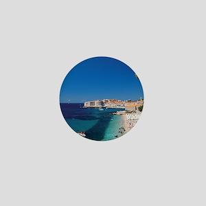 Croatia by the Beach  Mini Button