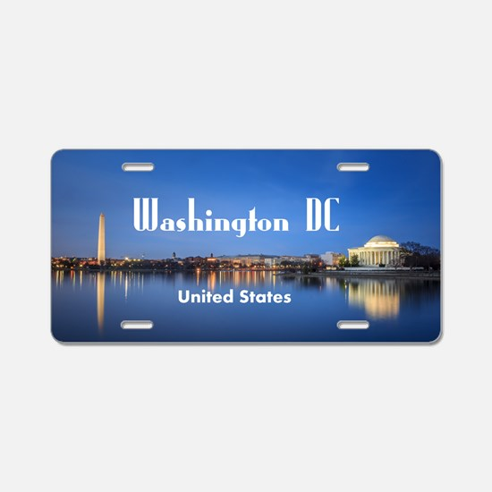 Washington DC Aluminum License Plate