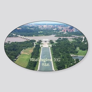 Washington DC Sticker (Oval)