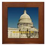 Washington DC Framed Tile