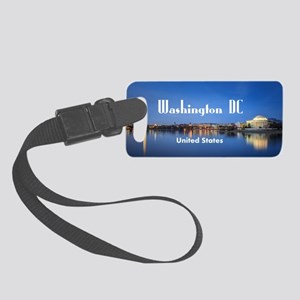 Washington DC Small Luggage Tag