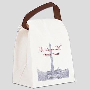 Washington DC Canvas Lunch Bag
