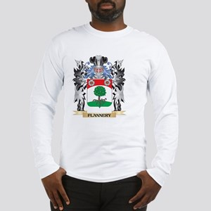 Flannery Coat of Arms - Family Long Sleeve T-Shirt