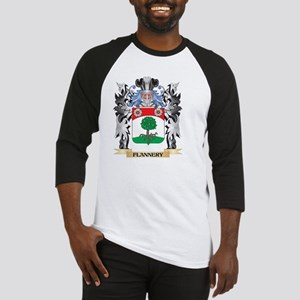 Flannery Coat of Arms - Family Cre Baseball Jersey