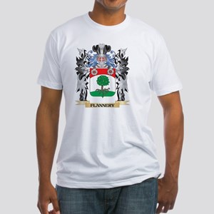 Flannery Coat of Arms - Family Crest T-Shirt