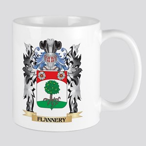 Flannery Coat of Arms - Family Crest Mugs
