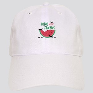 Picnic With Friends Baseball Cap