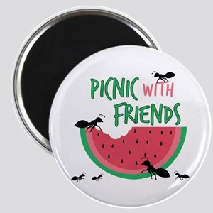Picnic With Friends Magnets