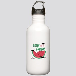 Picnic With Friends Water Bottle
