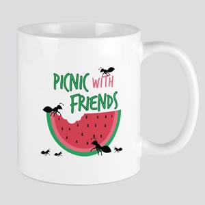 Picnic With Friends Mugs