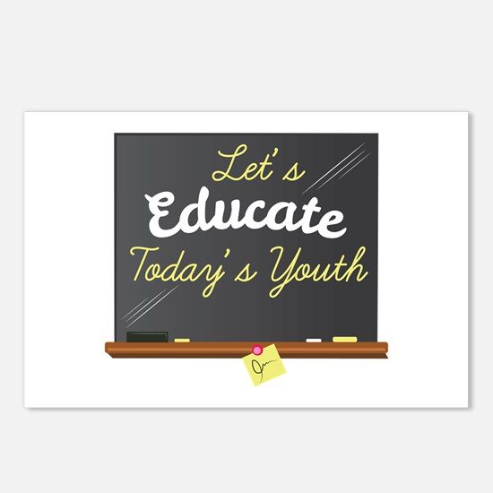 Let's Educate Postcards (Package of 8)