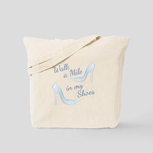 Walk A Mile Tote Bag