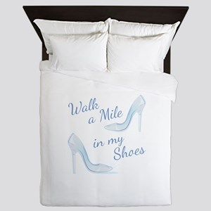 Walk A Mile Queen Duvet