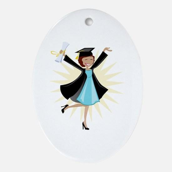 Graduate Ornament (Oval)
