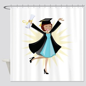Graduate Shower Curtain