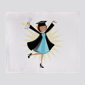 Graduate Throw Blanket
