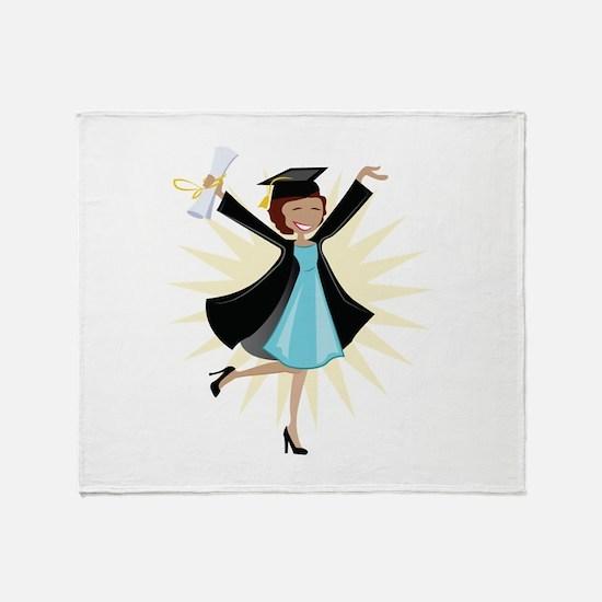 Graduate Throw Blanket